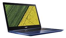 Ноутбук Acer Swift 3 SF314-54-82E1 14FHD IPS/Intel i7-8550U/8/256F/int/Lin/Blue, фото 2