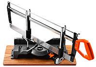 Стусло Neo Tools 44-600 Стусло поворотное (углорез) 600 мм, 18 TPI, 15, 22.5, 30, 36, 45, 90°