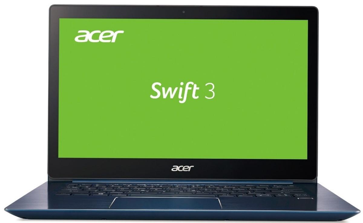 Ноутбук Acer Swift 3 SF314-54-87B6 14FHD IPS/Intel i7-8550U/12/512F/int/Lin/Blue