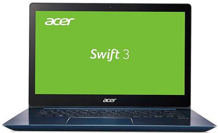 Ноутбук Acer Swift 3 SF314-54-87B6 14FHD IPS/Intel i7-8550U/12/512F/int/Lin/Blue, фото 2