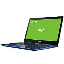 Ноутбук Acer Swift 3 SF314-54-87B6 14FHD IPS/Intel i7-8550U/12/512F/int/Lin/Blue, фото 3