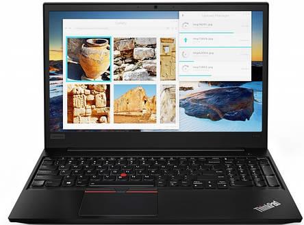 Ноутбук Lenovo ThinkPad E585 15.6FHD IPS AG/AMD Ryzen 7 PRO 2700U/16/1000+256F/DOS/Black, фото 2