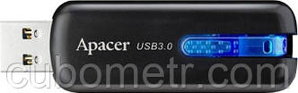 Накопитель Apacer 16GB USB 2.0 AH354 Black, фото 2