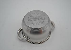 Набор кастрюль Benson нержавеющих  BN-210 - 8 пр:  2.1 , 2.9 , 3.9 , 6.5 лтр индукционные, фото 2