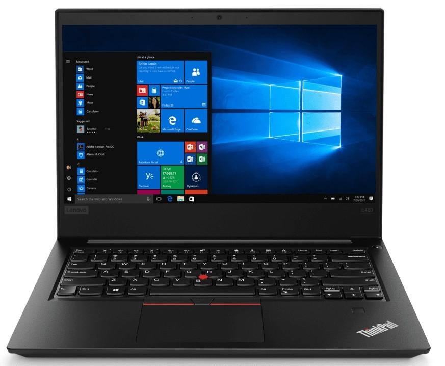Ноутбук Lenovo ThinkPad E480 14FHD IPS AG/Intel i5-8250U/8/256F/int/NoOS