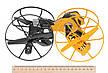 Игровой дрон Auldey Drone Force трансформер Morph-Zilla, фото 4