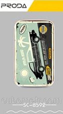 Портативное зарядное устройство Remax Proda 10000mAh 2USB-2.4A (Автомобиль), фото 2