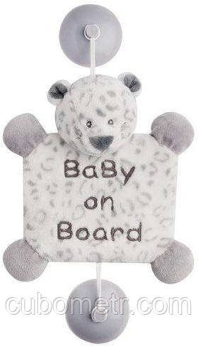 Nattou Игрушка Ребенок на борту на присосках леопард Лея 963442