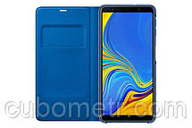 Чехол Samsung Wallet Cover для смартфона Galaxy A7 2018 (A750) Blue, фото 2