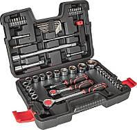 """Набір інструментів Top Tools 38D530 Набір змінних головок 1/4"""", 1/2"""" 53 од."""