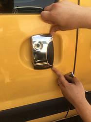Накладки на ручки (нерж.) - Renault Kangoo 1998-2008 гг.