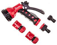 """Зрошувач Top Tools 15A713 Набір: Зрошувач пістолетний , з'єднувачі, з коннектором 1/2"""""""