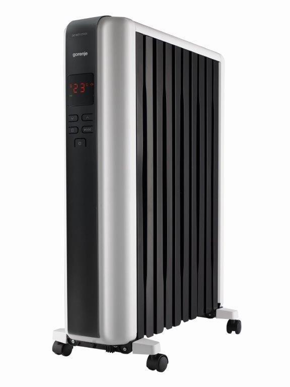 Радиатор масляный Gorenje OR 2300 SRM 2300 Вт, 20 м2, электр. упр-ние, пульт ДУ
