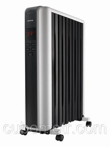 Радиатор масляный Gorenje OR 2300 SRM 2300 Вт, 20 м2, электр. упр-ние, пульт ДУ, фото 2
