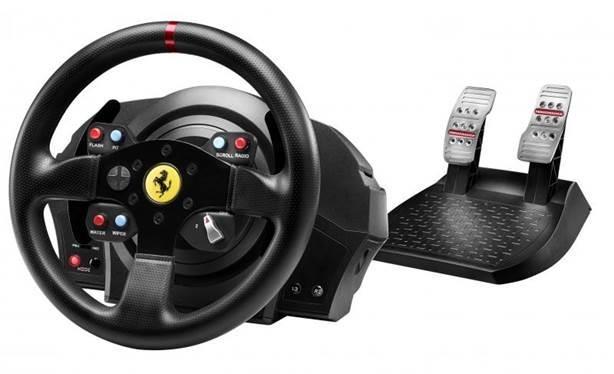 Руль  и  педали для  PC/PS4/PS3 Thrustmaster T300 Ferrari GTE Wheel