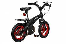 Детский велосипед Miqilong GN Черный 12` MQL-GN12-Black, фото 2