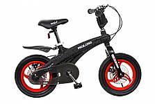 Детский велосипед Miqilong GN Черный 12` MQL-GN12-Black, фото 3