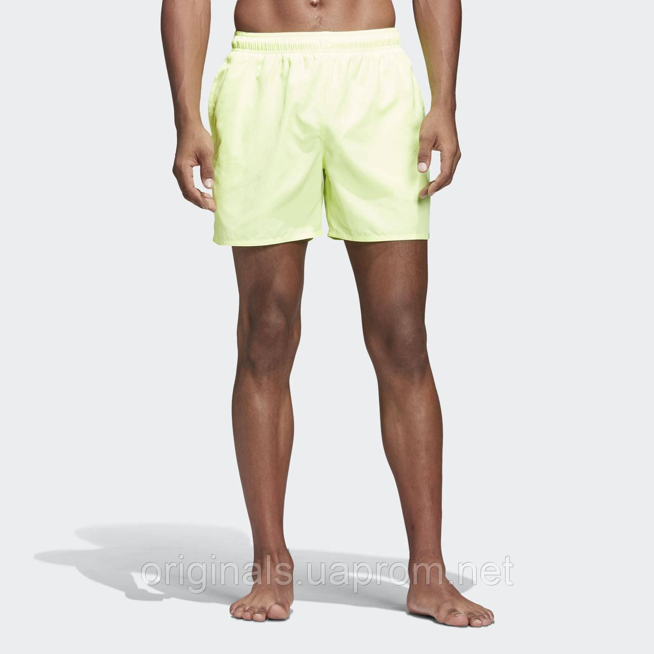 640074edfa375 Пляжные шорты Adidas Solid DQ3025 - 2018/2 - интернет-магазин Originals -  Оригинальный