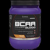 BCAA аминокислоты Ultimate Flavored BCAA 12,000 Powder (228 г) Апельсин