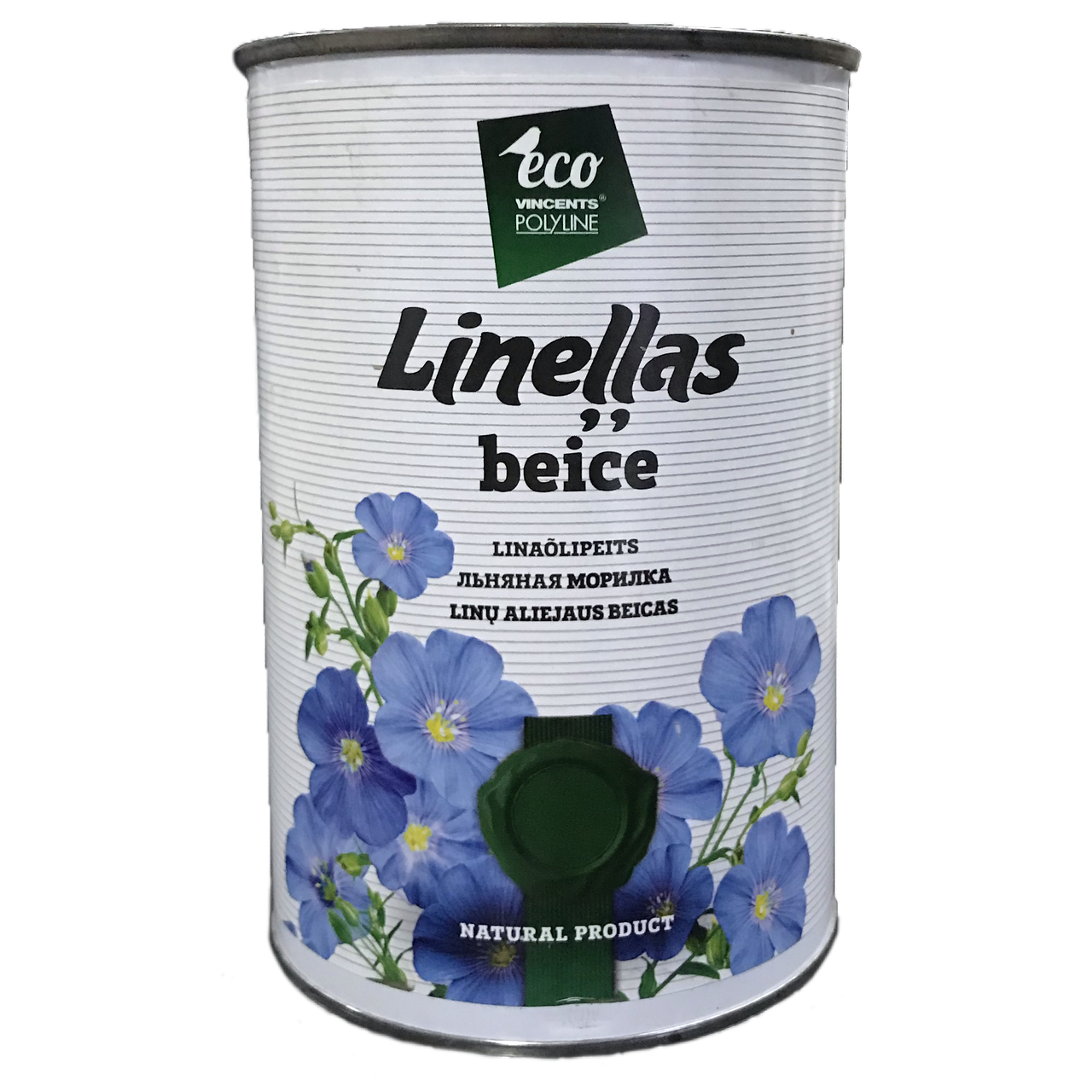 Лляна морилка Vincents Polyline Linellas beice 1л Пісок