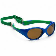 Детские солнцезащитные очки Koolsun зеленые серии Flex (Размер: 3+), фото 2