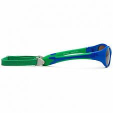 Детские солнцезащитные очки Koolsun зеленые серии Flex (Размер: 3+), фото 3