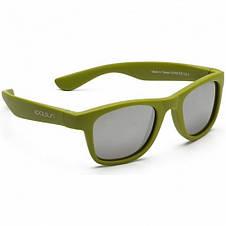 Детские солнцезащитные очки Koolsun цвета хаки серии Wave (Размер: 3+), фото 2