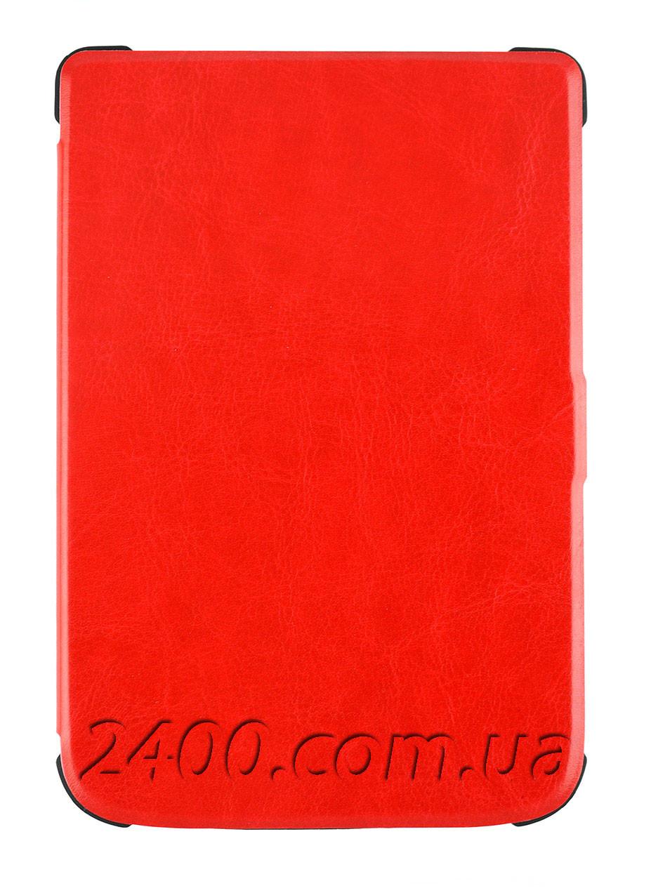 Красный чехол для Покетбук 627 - TPU