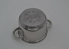 Набор кастрюль Benson нержавеющих BN-213-6 пр:  кастрюли 8.5 , 10 , 14 лтр индукционные, фото 2