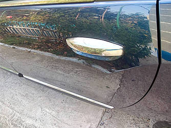 Накладки на ручки (4 шт., нерж.) - Renault Lodgy 2013+ гг.