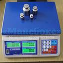 Торговые весы с поверкой до 30 кг ВТНЕ1 30Т1К (Дозавтоматы), фото 3