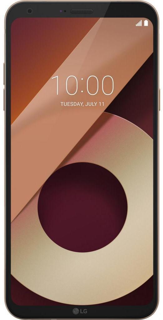 Смартфон LG Q6 (M700) 2/16GB DUAL SIM GOLD