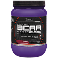 BCAA аминокислоты Ultimate Flavored BCAA 12,000 Powder (228 г) Вишня
