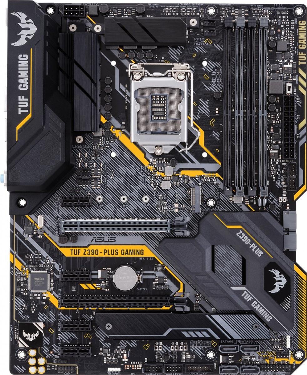 Материнcкая плата ASUS TUF_Z390-PLUS_GAMING s1151 Z390 4xDDR4 M.2 HDMI-DP ATX