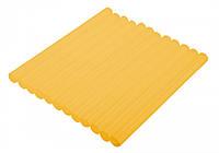 Topex 42E171 Стрижні клейові 11 мм, 12 шт., жовті