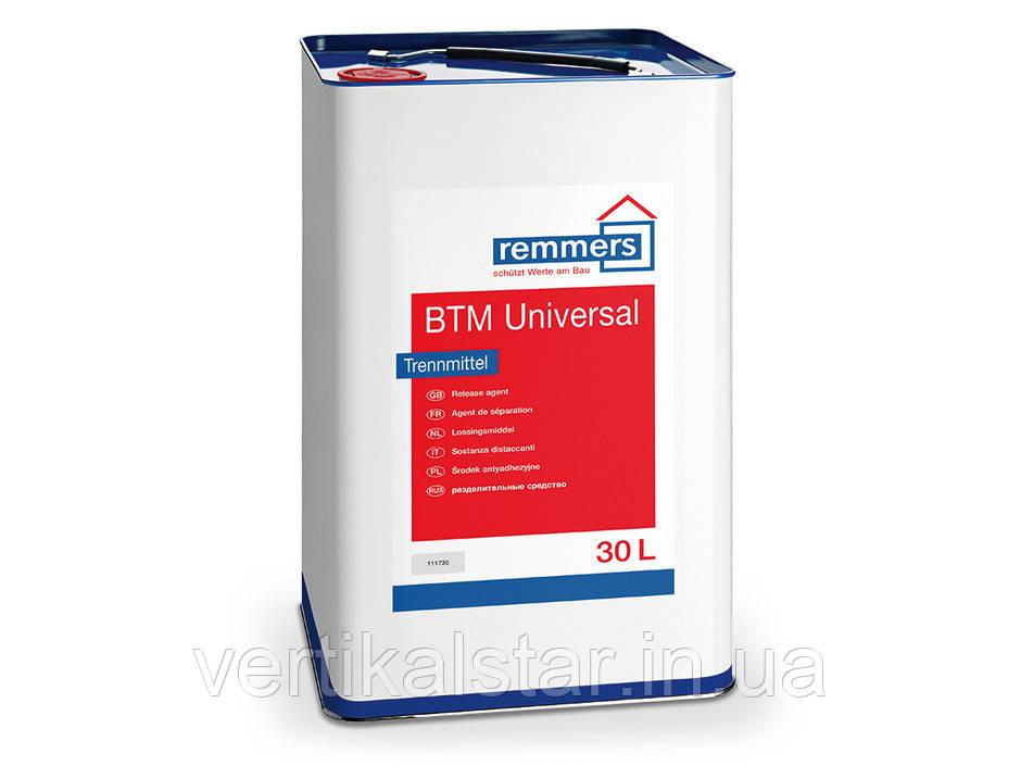 Смазка для опалубки и форм BTM Universal (упаковка 30л)/за 1 л