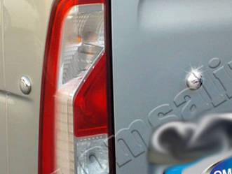 Заглушки (4 шт, нерж) - Renault Master 2011+ гг.