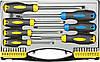Стандартная, отвертка-держатель бит Topex 39D887 Викрутки та насадки, набiр 27 шт.