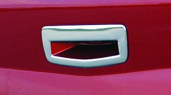Накладка на ручку багажника (SD, нерж) - Renault Megane II 2004-2010 гг.