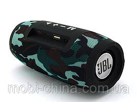 JBL Charge mini E3+ 6W копия, колонка с Bluetooth FM MP3, Squad камуфляжная, фото 3