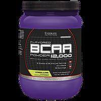 BCAA аминокислоты Ultimate Flavored BCAA 12,000 Powder (228 г) Лимонный лайм