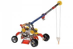 Конструктор металлический Same Toy Inteligent DIY Model Подъемный кран 413 эл. WC58AUt, фото 2