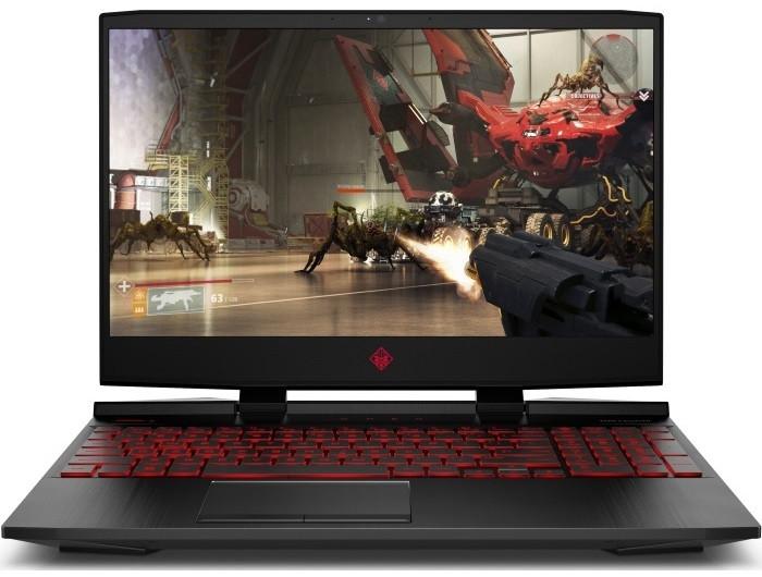 Ноутбук HP OMEN 15-dc0025ur 15.6FHD AG/Intel i7-8750Q/16/1000+256F/NVD1060-6/DOS