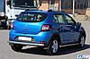 Задня дуга AK002 (нерж) - Renault Sandero 2013+ рр., фото 4