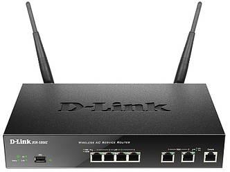 Мультисервисный маршрутизатор D-Link DSR-500AC AC1200, 4xGE LAN, 2xGE WAN, 1xUSB, 1xCons RJ45, фото 2