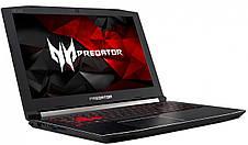 Ноутбук Acer Predator Helios 300 PH315-51-58AY 15.6FHD IPS/Intel i5-8300H/16/1000+256F/NVD1060-6/Lin, фото 3