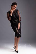 Платье замшевое с кожаной бахромой, фото 3