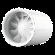 Вентилятор осевой канальный Вентс Квайтлайн 100, приточно-вытяжной, мощность 7.5Вт, объем 100м3/ч, 220В,