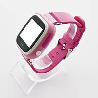 Детские часы с GPS WatchBaby Q90S Розовые