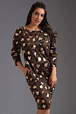 Платье с золотым напылением , фото 2